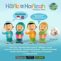 Hafiz Doll boneka mengaji new version | ongkir 1kg