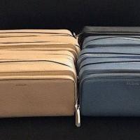 Dompet Michael Kors Original MK Mercer Wallet Double Zip Travel Pouch