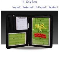papan strategi pelatih 4 in 1 magnet sepakbola futsal basket bola voli
