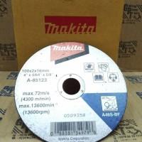 Batu Pisau Gerinda Makita 4inch - Potong Besi Cutting Disc 13600 rpm