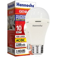 Lampu LED Hannochs Genius 10W (emergency light) - BUKAN PHILIPS