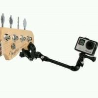 Adjustable music mount gopro / xiaomi yi for gitar, drum, stand mic