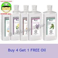 Paket Promo Lampe Berger OIL 4 - FREE Oil