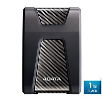 1 TB Hard Disk Eksternal ADATA H650 USB3.1 Anti-Shock - Black