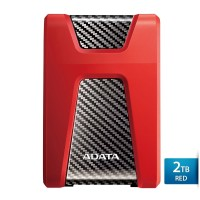ADATA H650 - 2TB Merah - Hard Disk Eksternal USB3.0 Anti-Shock
