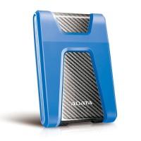 1 TB Hard Disk Eksternal ADATA H650 USB3.1 Anti-Shock - Blue