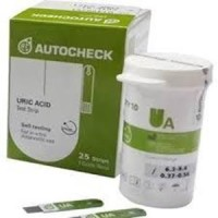 Strip Autocheck Asam Urat / Uric Acid isi 25
