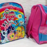 Jual Tas anak My LIttle Pony / Tas punggung poni / Tas ransel poney murah Murah