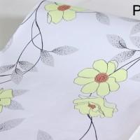 Wallpaper Sticker PVC Bunga Kuning