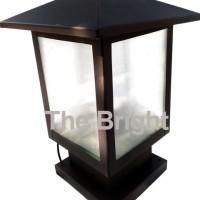 Rumah Lampu Pilar PL07 | Lampu Hias | Lampu Pilar