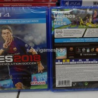 PS4 PES 2018 PREMIUM EDITION REG 2 ENGLISH