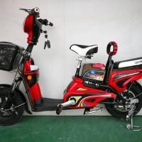 Harga sepeda elektrik trik earth gold e bike sepeda listrik super | Pembandingharga.com