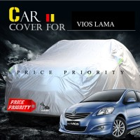 Body Cover / Sarung Mobil Toyota Vios Polyesther 100% Waterproof