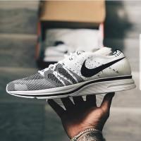 41deae5555992 Nike Flyknit Trainer White Black Premium Original   sepatu gym