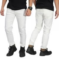 Jual Celana Jeans Skinny Putih Polos Murah