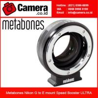 Metabones Nikon G to E mount Speed Booster ULTRA /Adapter Kamera Sony