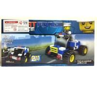 Lego SWAT FORCE - Wanted Police Car / lego murah 20025-3