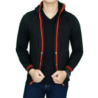 Jual sweater rajut cotton cardigan hoodie pria Murah