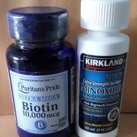 Jual Minoxidil + Biotin Murah