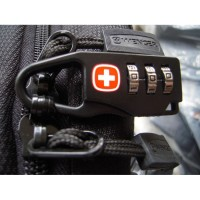 Gembok Koper Swiss Kunci Kode Password Travel