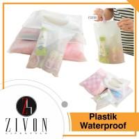 Jual Plastik untuk Pakaian Sepatu Waterproof Travelling Pouch  UK L YC26 Murah