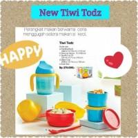 Baby Tupperware Set New Tiwi Todz Paket Peralatan Makan Bayi Gift Box