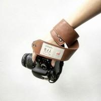 Strap Kamera Kulit Custom Teks/Nama/Tulisan | Camera Strap Leather