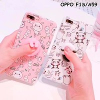 Jual FOR OPPO F1S/A59 - SQUISHY RABBIT PANDA SOFT SILICONE CASE CASINGPHONE Murah