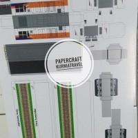 Pola Papercraft Lokomotif CC 206