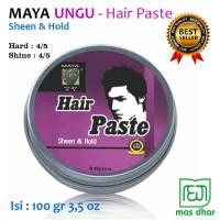 Jual Minyak Rambut Pria Macho Maya Hair Paste Sheen & Hold 100 gr NMA025 Murah
