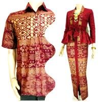 Jual Batik Couple / Sarimbit / Couple Kebaya Peplum Murah