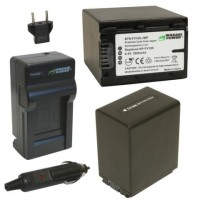 Wasabi Power Battery Sony NP-FV100 (2-Pack) & Charger