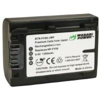 Wasabi Power Baterai Sony NP-FV30, NP-FV40, NP-FV50