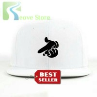Topi Snapback Mickey Mouse Hands - Reove Store