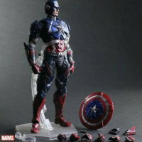Square Enix Play Arts Kai Marvel Universe Variant : Captain America