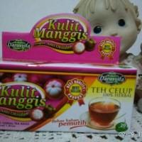 Jual Teh Herbal Celup Kulit Manggis Anti Oksidan Alami Murah