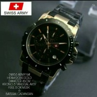 JAM TANGAN PRIA SWISS ARMY 6141 EXCLUSIVE SUPER QUALITY