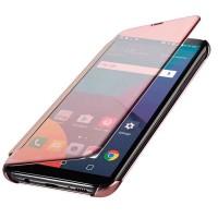 Casing Flip Mirror Samsung J7 J5 J3 Pro 2017 Flipcase Cover Transparan