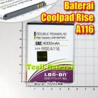 Baterai Coolpad Rise A116 , Log-On