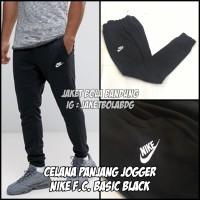 CELANA PANJANG JOGGER NIKE FC BASIC BLACK
