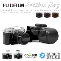 Fujifilm X-T10 / XT10 Leather Bag/Case/Tas Kamera