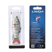 Umpan Ikan Lixada 10cm 3D Lifelike Fishing Lure 3 Hooks Umpan Mancing
