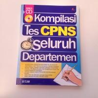 Kompilasi Tes CPNS Seluruh Departemen + CD