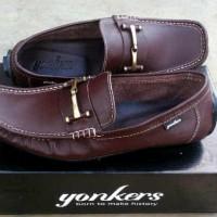 Jual sepatu slip on kulit yonkers king  Murah