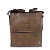 Tas Pria Slimbag Bodybag Import Branded - AIGNER ANT BROWN
