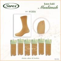 Kaos Kaki Jempol Muslimah Anti Slip Sorex W5806