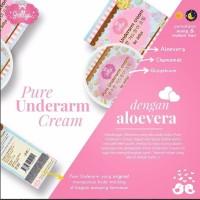 Jellys Pure Underarm Cream Original 100% Thailand / Barcode