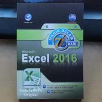 Buku Mahir dalam 7 Hari Microsoft Excel 2016
