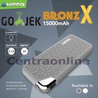 Hippo Bronz X 15000 mAh Power Bank SP Bagus Tahan Kuat Murah