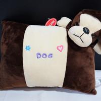boneka bantal anjing